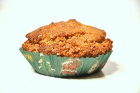 Muffinka z masłem orzechowym