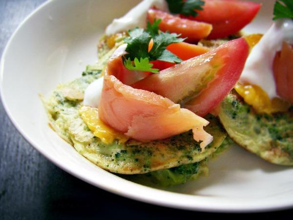 Omleciki brokułowe