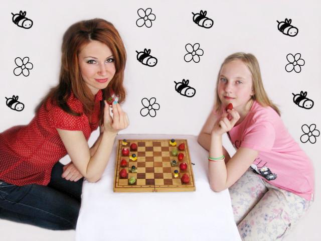 Alicja z dietetykiem Małgorzatą Panek