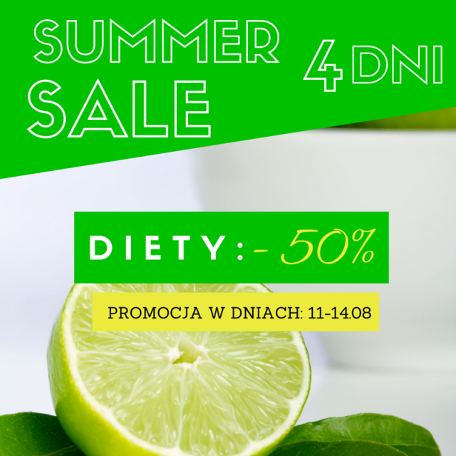 promocja na diety summer sale