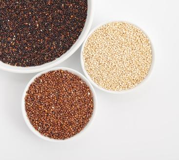 Quinoa - verschiedene Sorten