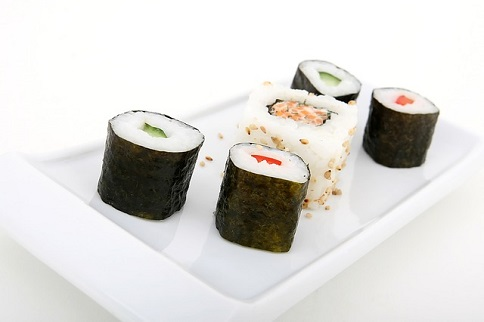 sushi ryż nori kuchnia azjatycka 484 px