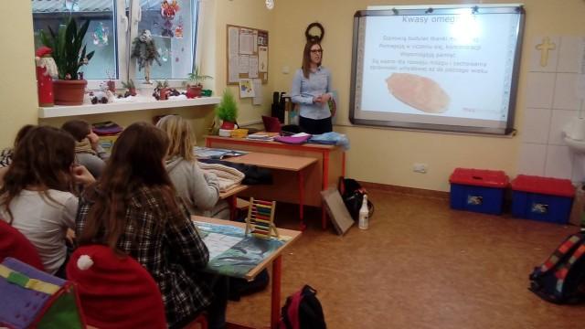 Patrycja Pawlikowska podczas warsztaty w Charzykowach