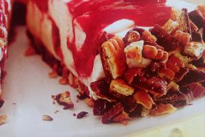 biało - czerwone ciasto serowe- mirka Westpahl