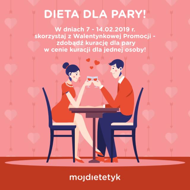 Instagram, facebook - dieta dla pary