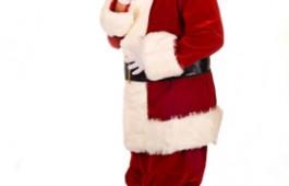 Święty Mikołaj przytył przez Święta