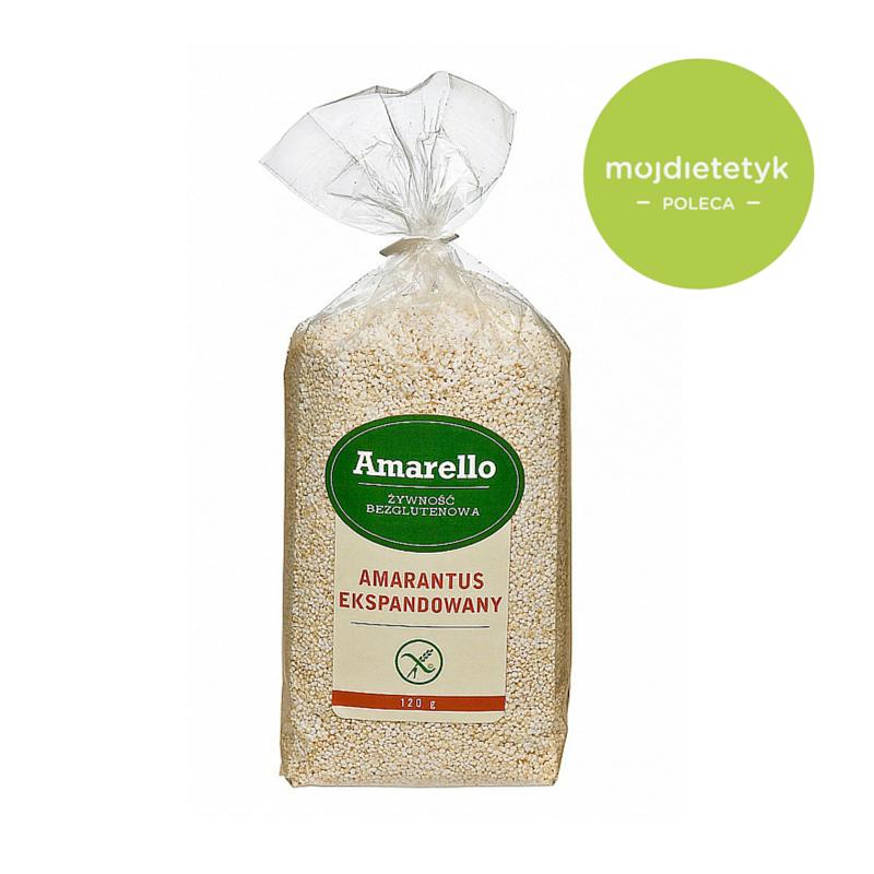 Amarantus dobry produkt, moj dietetyk poleca, co jesc