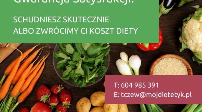 GWARANCJA SATYSFAKCJI z diety, moj dietetyk, dietetyk tczew, pomoc dietetyka