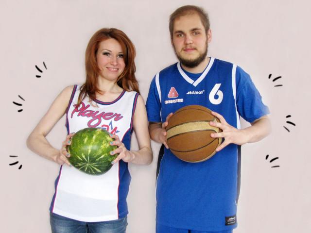 Jakub z dietetykiem Małgorzatą Panek