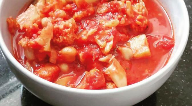Warzywny gulasz wegetarianski