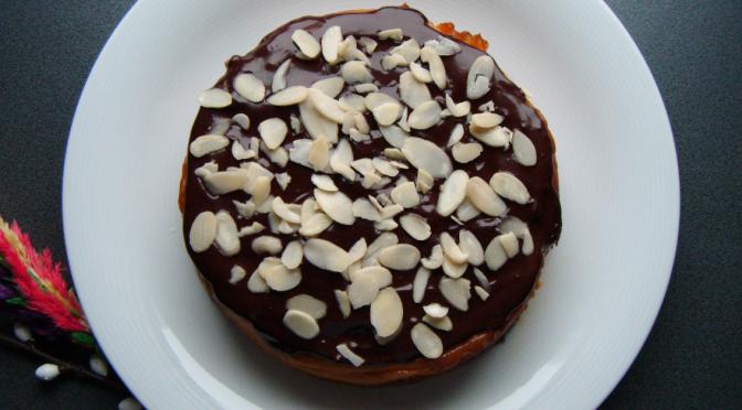 Migdałowe bezglutenowe ciasto z batatów