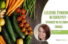 Anna Hajost - leczenie żywieniowe w cukrzycy